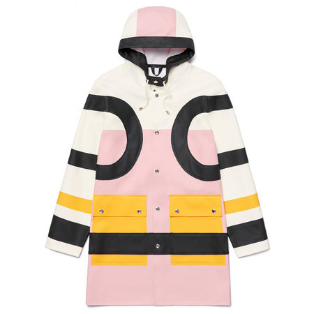 UNISEX Henrik Vibskov x Stutterheim Colorblock Raincoat - Pink