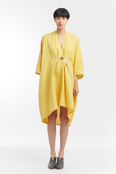 Miranda Bennett Linen O'Keeffe Dress - Corsica
