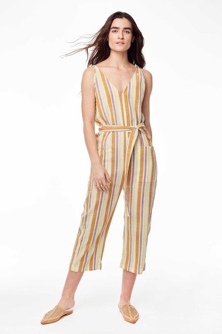 775752cda821 Wax and Cruz Cabiria Jumpsuit - 70s Stripe ...