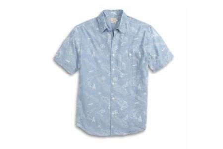 Faherty Coast Shirt - Map Print