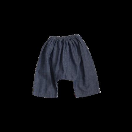 Unisex Kids Belle Enfant Harem Pant - Medium Wash Chambray