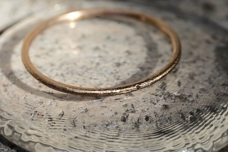 April Higashi Bangle - BRONZE/DIAMOND
