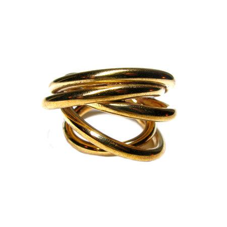 Monica Castiglioni Fili Fusi Ring - Bronze