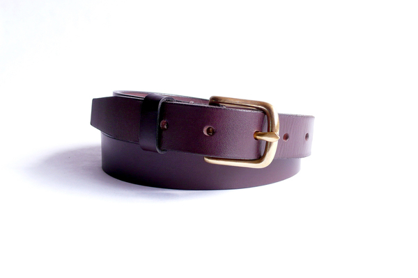 Sara Barner 1 Inch Dark Brown Belt