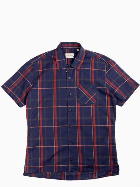 Oliver Spencer Hawaiian Shirt - Wilson Navy