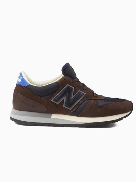 New Balance M770NP Sneakers - Navy/Brown
