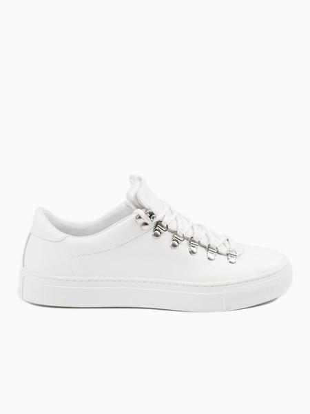 Diemme Marostica Low Nappa Sneakers - White