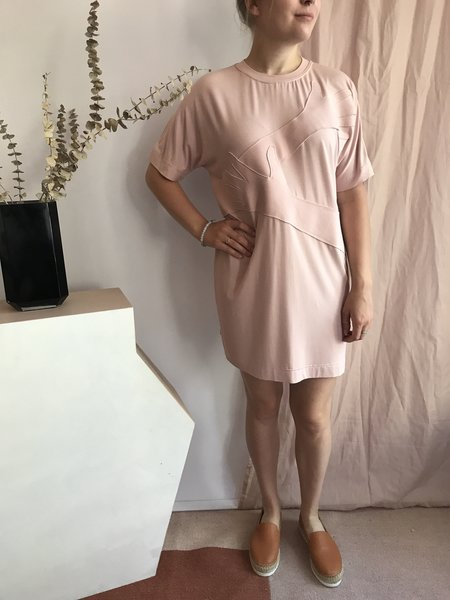 The Lovables Hug Me T-Shirt Dress - Rose