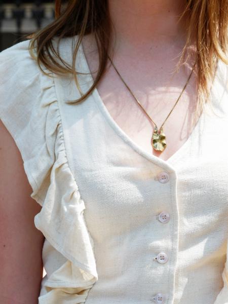 Faeber Coriolis Pendant Necklace
