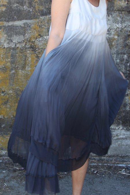 Viviana Uchitel Ombre Dress - Grey