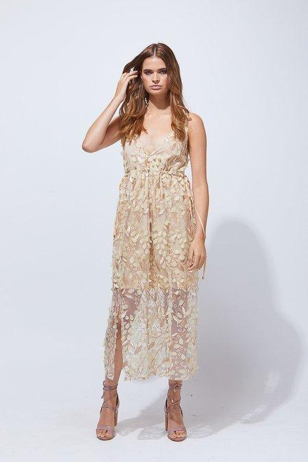 PIA Malaia Dress - Shimmer Bronze