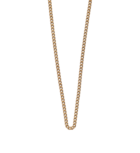 Kirstin Ash Necklace Chain Long - Gold