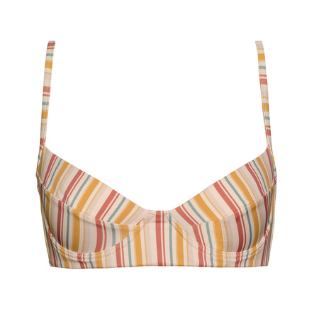Clō Stories Gabriele bikini top - stripes