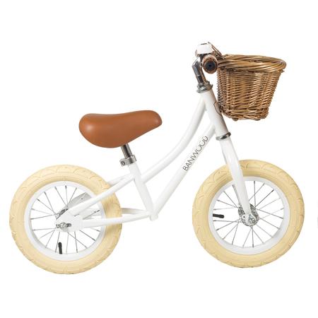 Kids Banwood FIRST GO! Bike - White