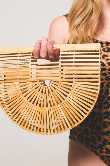 Preservation Half Moon Bamboo Bag