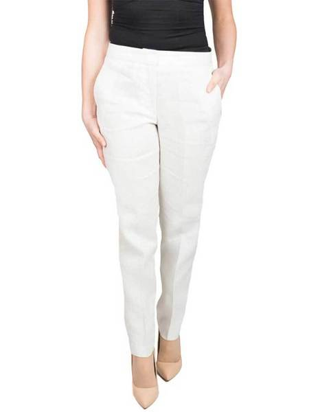 French Connection Haiti Linen Trouser - Summer White