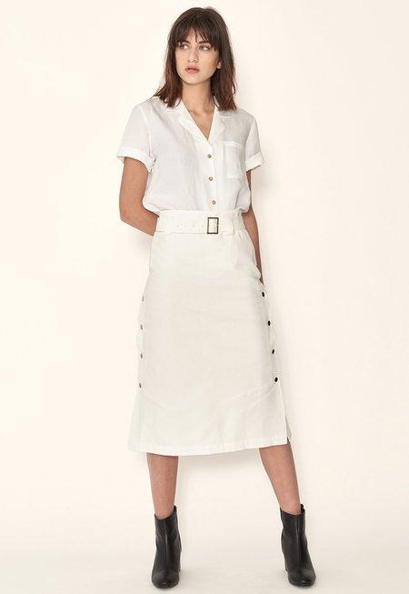 Sunad Basin Shirt - White