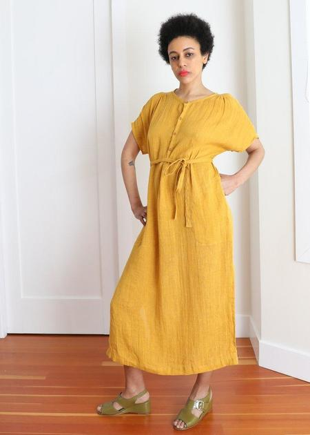 Gravel + Gold Savio Dress - Sunflower
