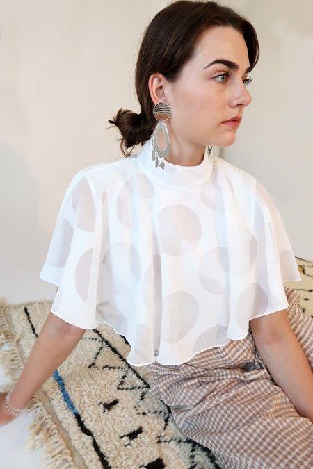 Modern Weaving TOTEM Earrings - Silver
