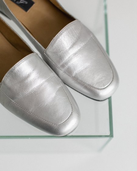 Kaleidos Vintage Selby Loafers - Silver