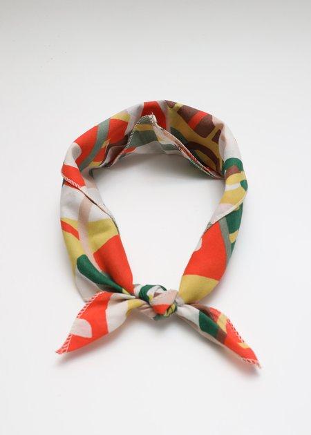 Gravel & Gold Handkerchief - Rhythm Color