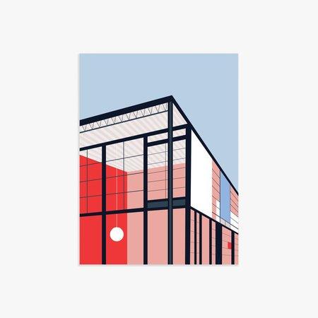 Poketo Eames House Print