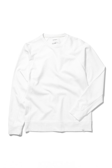 Norse Projects Vorm Mercerized Sweatshirt - White