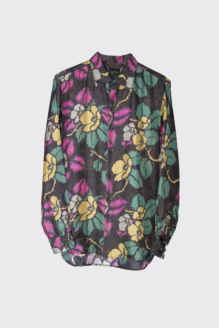 Bananatime Silk Collar Shirt