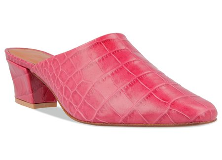 By Far Shoes Sienna - Croco Pink