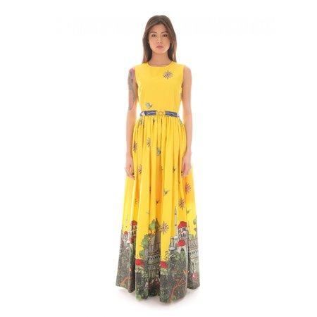 Roi du Lac Sophia Long Dress - Yellow