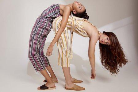 Elina Lebessi Multi Strapless Jumpsuit - BLUE