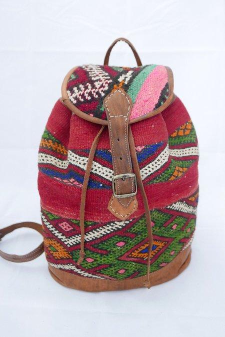 Le Souk Le Souk Berber Rug Moroccan Backpack 001