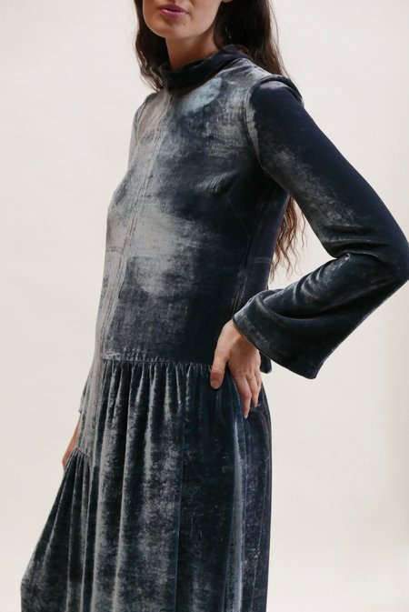 Tela Giacinto Dress - Grigio