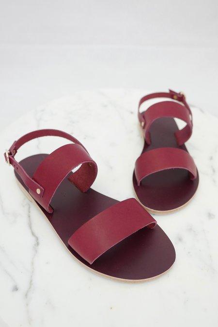 KYMA Mykonos Sandals - Bordeaux