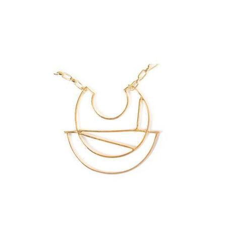 Nina Berenato Jewelry Spectrum Necklace - Yellow Gold