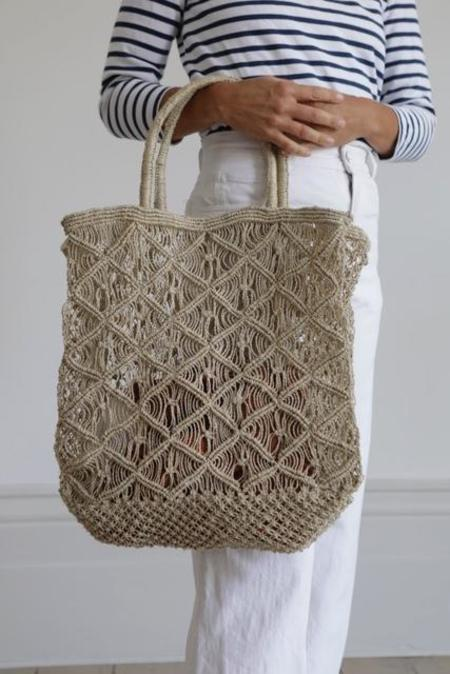 Maison Bengal Natural Criss Cross Bag
