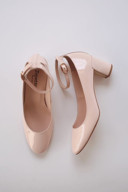 Repetto Electra Block Heel Pumps - Icone
