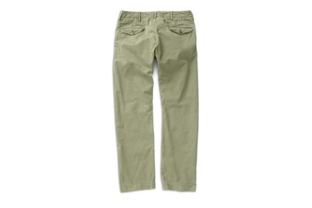 RRL Cotton Officer's Chino - Olive