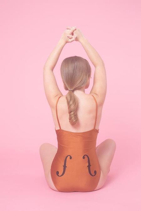 Samantha Pleet Cello Swimsuit