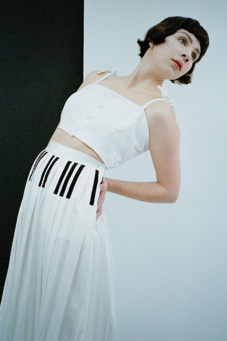 Samantha Pleet Grand Piano Skirt