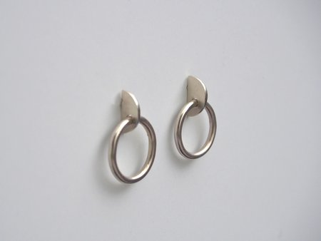 Octave Jewelry Small SLICE Earring - Silver