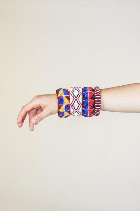Yolanda Out of Africa Large Beaded Bracelets