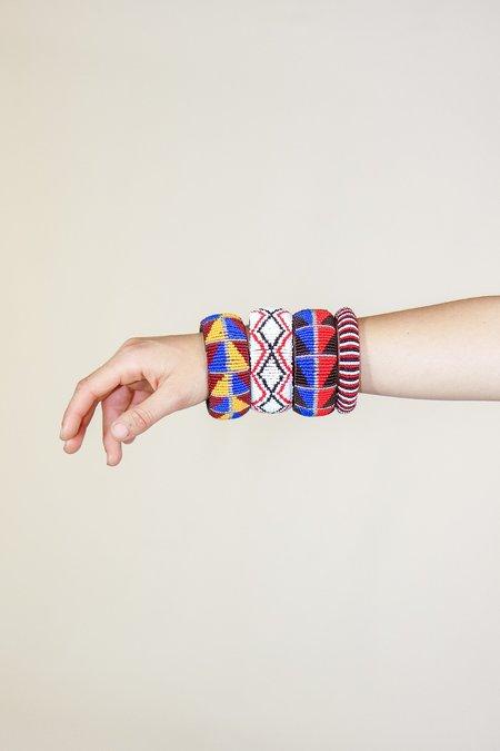 Yolanda Out of Africa Large Beaded Bracelets