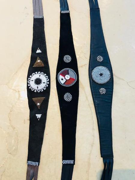 Yolanda Out of Africa Beaded Hatbands or Belts