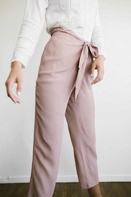 Maria Stanley Rebecca Tie Pant - Blush Dot