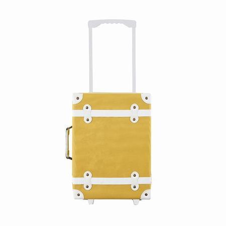 Kids Olli Ella See Ya Suitcase - Mustard