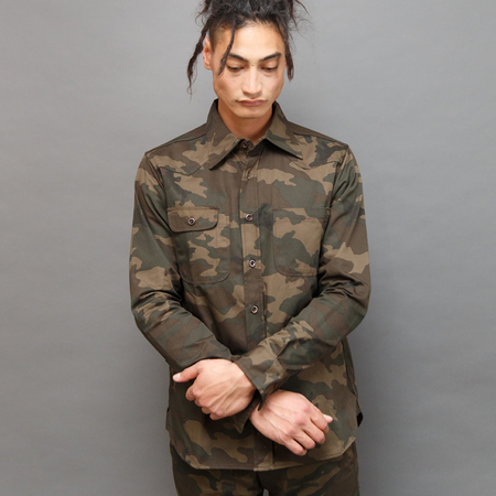 Tellason Topper Shirt - Japanese Camo