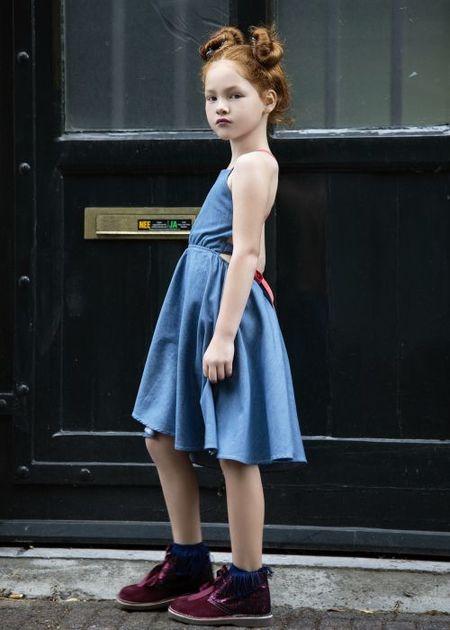 Kids Charlie & Alivia Livi Maxi - Blue