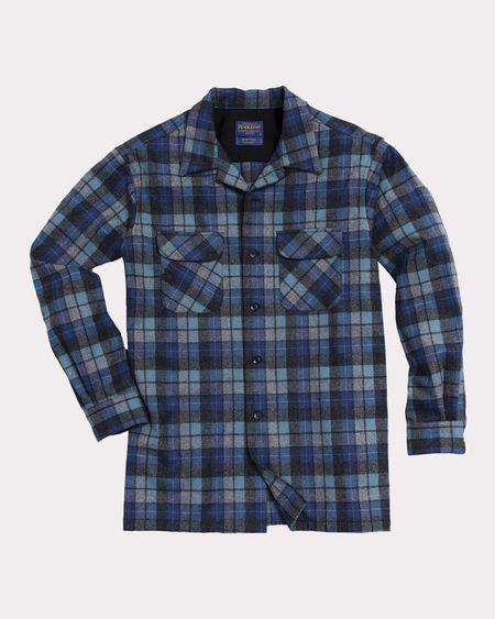 Pendleton Board Shirt - Blue Original Surf Plaid