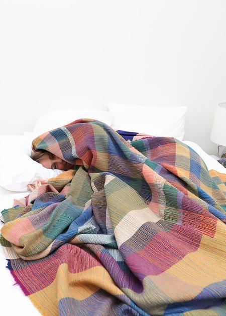 Travis Meinolf Large Handwoven Blanket #1